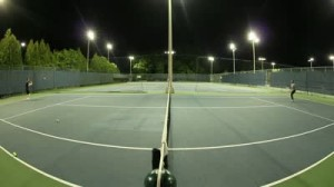 LED osvetlitev tenis igrišča