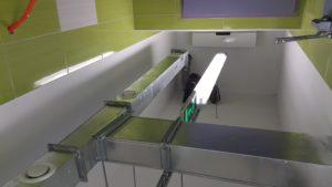 LED osvetlitev jedilnice in kuhinje