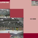 LED osvetlitev hokejske dvorane