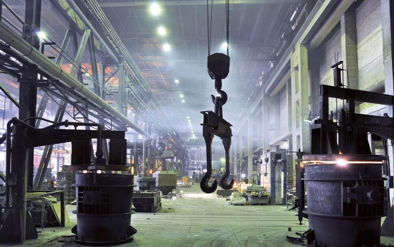 LED industrijske svetilke za proizvodnjo