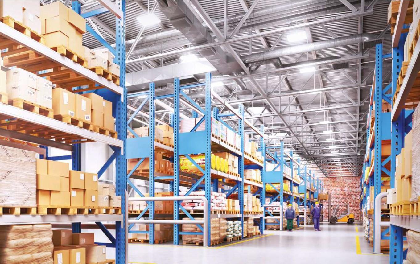 LED industrijske svetilke za skladišča