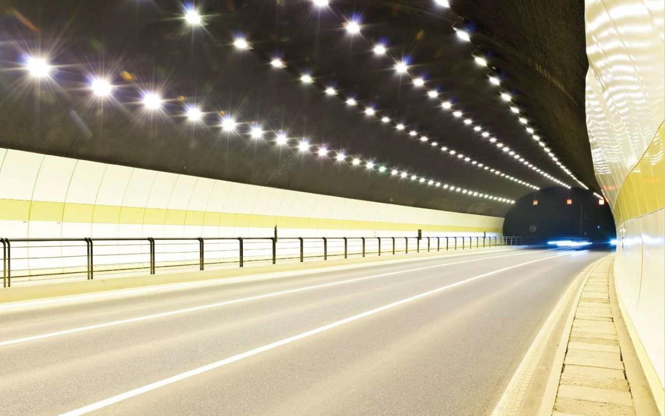 Posebne LED svetilke - tunel